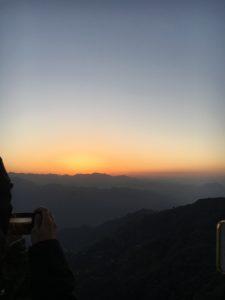 Kunjapuri sunrise